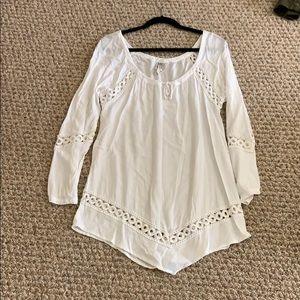 XCVI White Reyon Dress